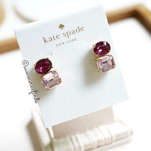 Kate Spade Bright Ideas Double Crystal Earrings